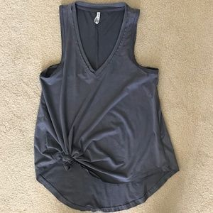 Z SUPPLY Gray Knotted Tank XS